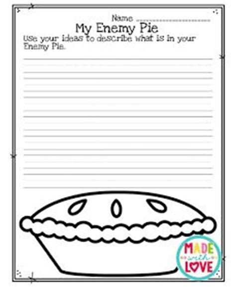 recipe for friendship template 1000 images about back to school on enemy