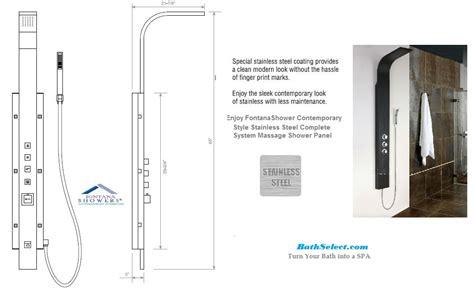 Bath Handheld Shower 5 year warranty stainless steel thermostatic shower panels