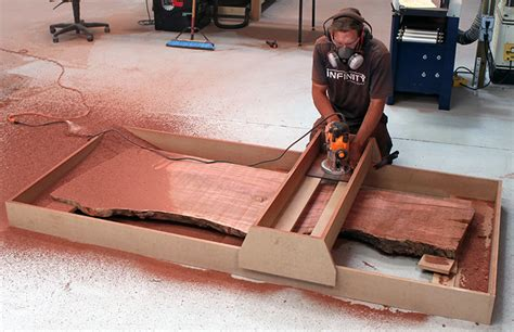 Router Planing Sled T