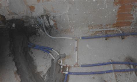 impianto acqua bagno impianto idrico con collettore o con derivazione