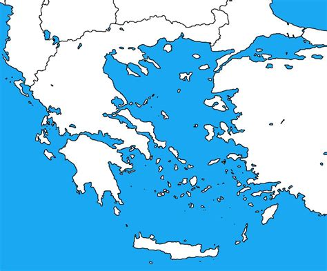 printable map of turkey and greece blank map of greece by dinospain on deviantart