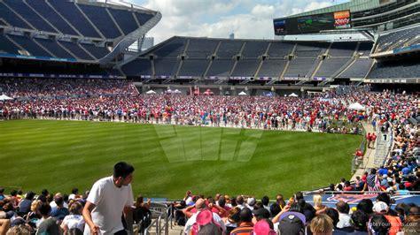 soldier field section 130 soldier field section 119 concert seating rateyourseats com