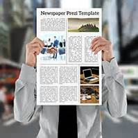 Prezi Templates Prezibase Prezi Templates Page 2 Prezi Newspaper Template