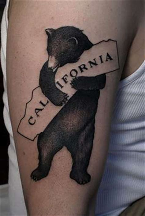 california bear tattoo designs california tattoos on california tattoos