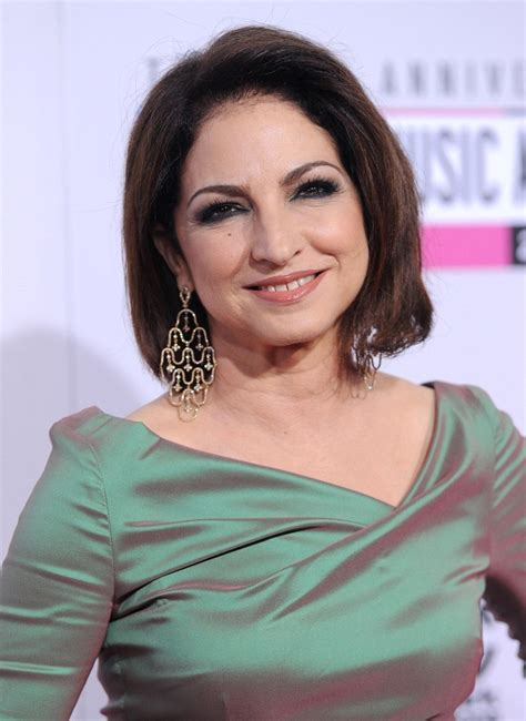 sophisticated hairstyles for women over 50 gloria estefan s sophisticated hairstyle haute