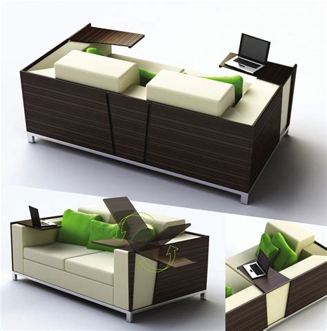 desk couch coolest space saving furniture ideas