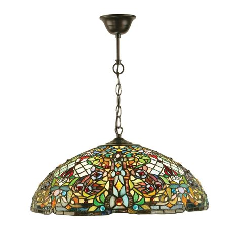 tiffany pendant lights kitchen 63902 anderson tiffany large 3 light pendant