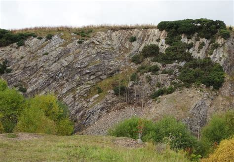 Landscape Rock Quarries Shaping The Landscape Black Hill And Stonebyres Quarry