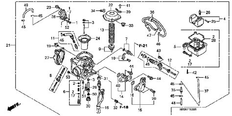 honda foreman carburetor diagram honda foreman 500 carburetor diagram car interior design