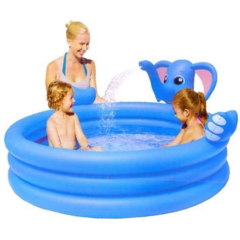 Tenda Anak Gajah kolam renang anak spray gajah bestway halomurah