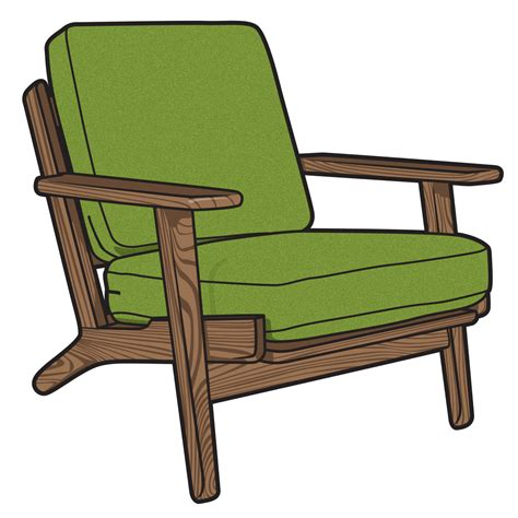 furniture illustration drawings of classic