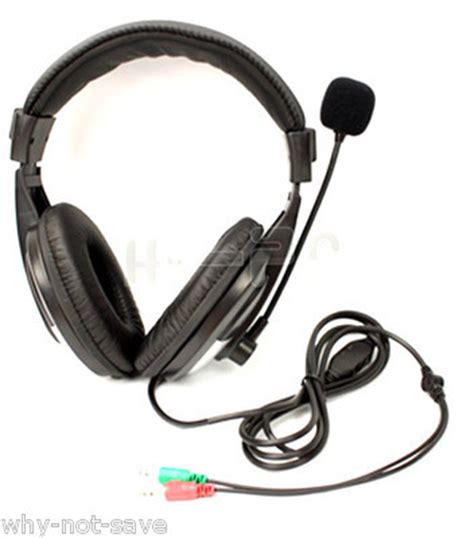 Headset Hp Sony headphone headset with mic for hp dell toshiba sony computer laptop pc desktop headsets