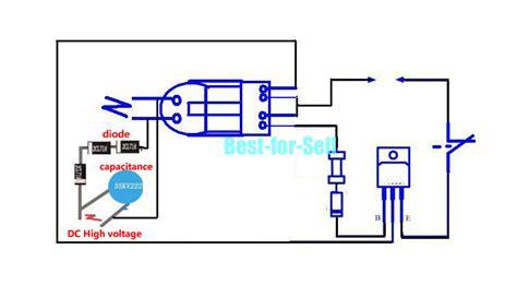 capacitor spark generator 15kv high voltage inverter generator spark arc ignition coil module diy kit 3 7v ebay