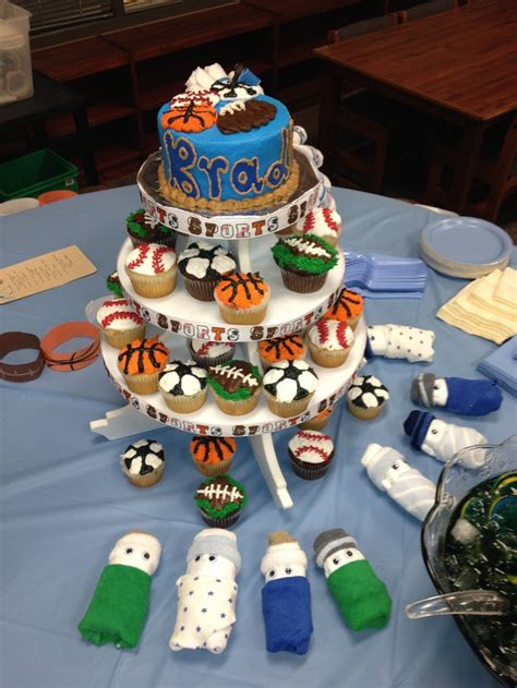 Sports Themed Baby Shower by Sports Theme Baby Shower Ideas