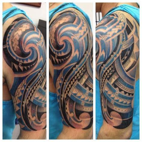 tribal short sleeve tattoos collection of 25 impressive maori tribal half sleeve