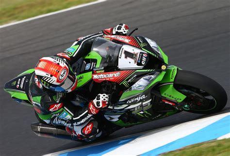 test superbike tests superbike en australie kawasaki toujours devant