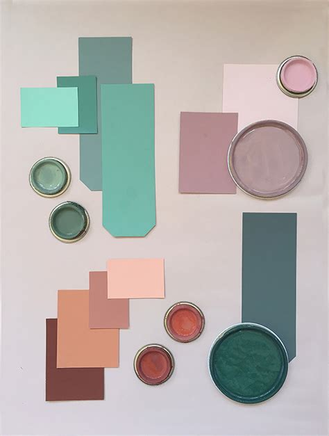 how to create a color mood board at mine
