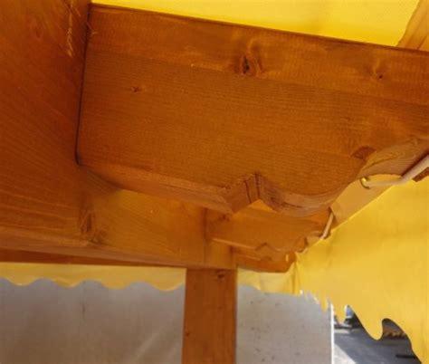 gazebo 2 5x2 5 gazebo in legno 2 5x2 5 in lamellare a 4 acque made in italy
