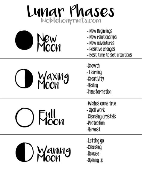 Best Moon Phase For Detox by 25 Best Ideas About Moon Phases On Wicca