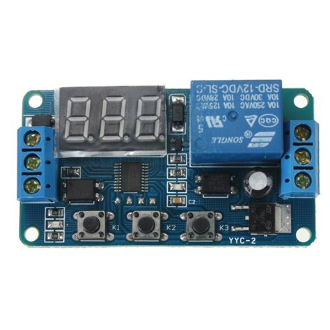 Modul Led 8 Kombinasi By Ono Shop dc 12v led display digital delay timer switch