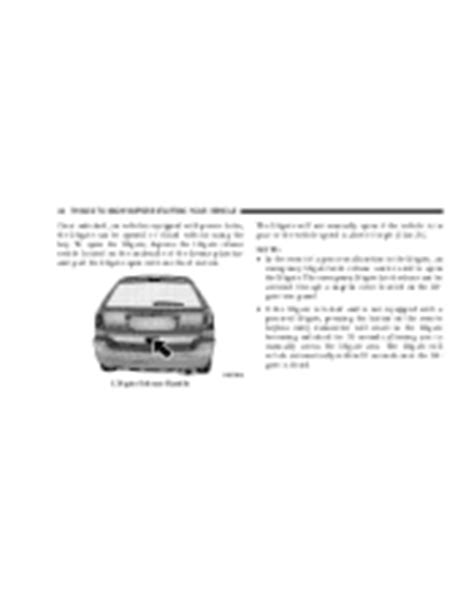 old car owners manuals 2007 chrysler pacifica windshield wipe control 2007 pacifica window lock will not release 2007 chrysler pacifica support