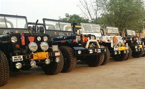 classic jeep modified landi jeep offical website in dabwali open jeep official