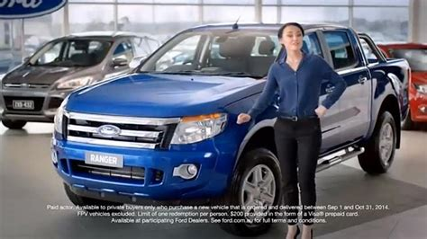 girl in ford ad australia ford australia hits 48 year low in second strongest car