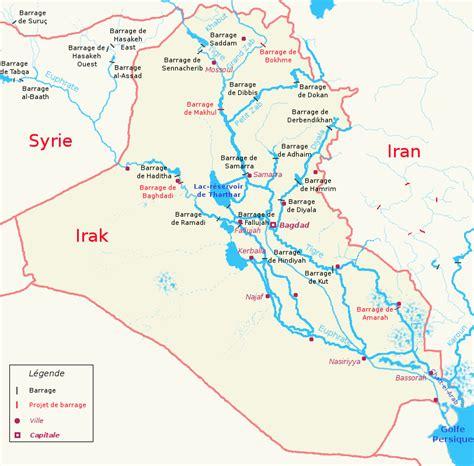 rivers in iraq map list of rivers of iraq