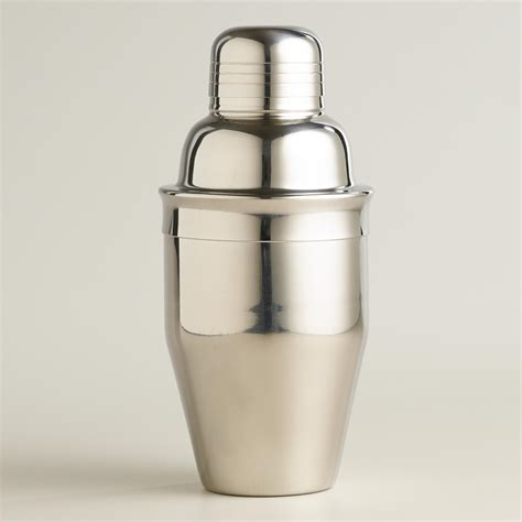 mini stainless steel cocktail shaker world market