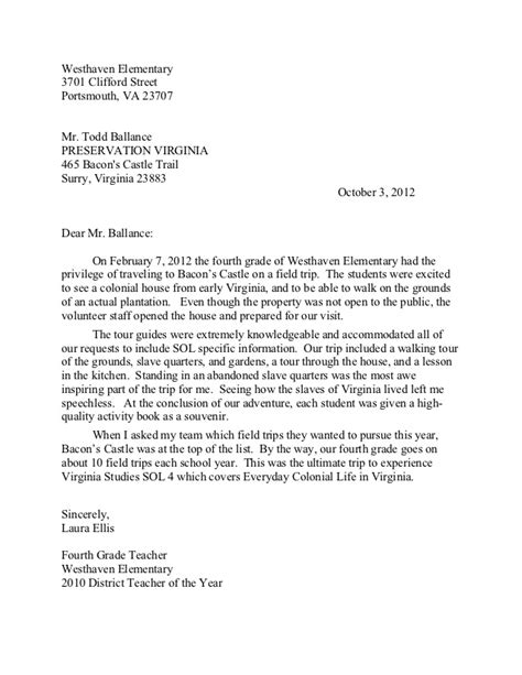 Reference Letter Points westhaven elementary letter of recommendation