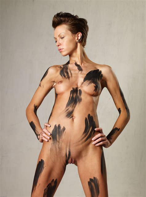 Olena Oblack Body Paint Xxxl Olenaoblackbodypaint Xxxl