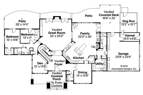 lodge floor plans lodge style house plans timberfield 30 341 associated