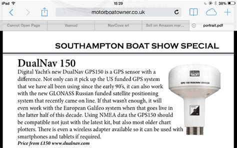 gps boat motor motor boat owner launches in the uk digital yacht news