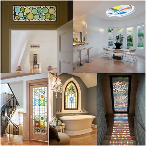 glass home design decor 20 ideas for home decorating with stained glass panels