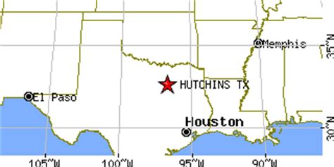 hutchins texas map hutchins texas tx population data races housing economy