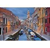 Rua Pequena Em Veneza HD Fotos Cidades Do Mundo Para O