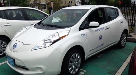 new bedford car new bedford runs largest fleet of electric vehicles in