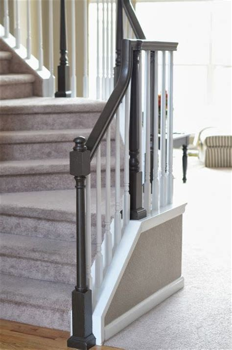 painting wood banister 17 best images about stair banister on pinterest elle