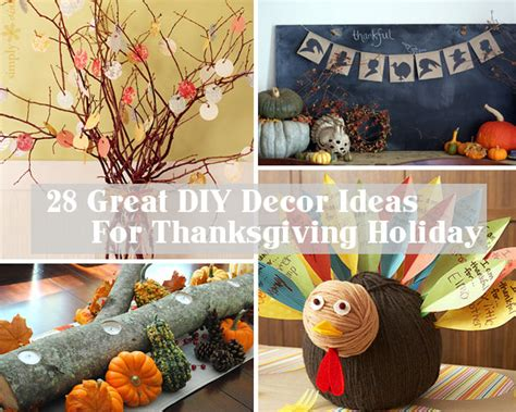 thanksgiving home decorations ideas 28 great diy decor ideas for the best thanksgiving holiday