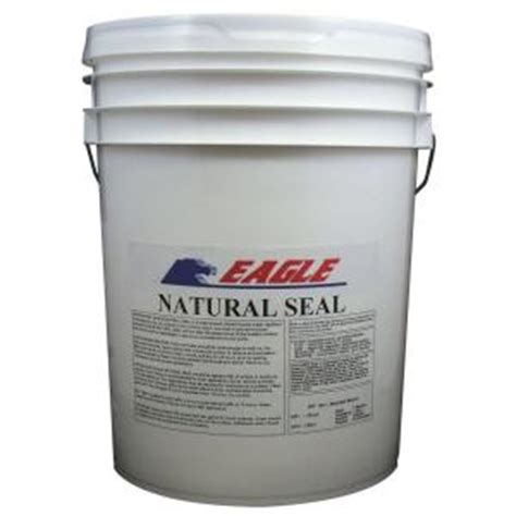 eagle 5 gal natural seal penetrating clear water based concrete and masonry water repellant
