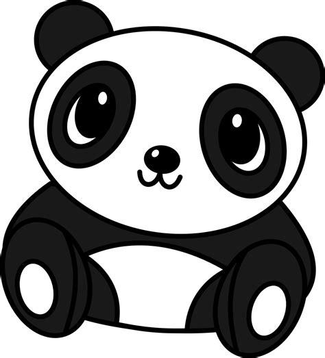 Panda Outline Drawing by Thyself My Baby Panda Drawing