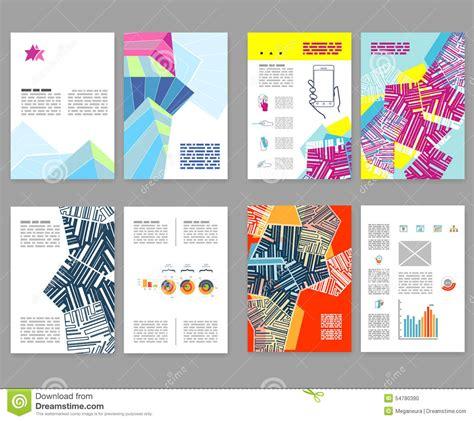 layout booklet flyer leaflet booklet layout set editable design