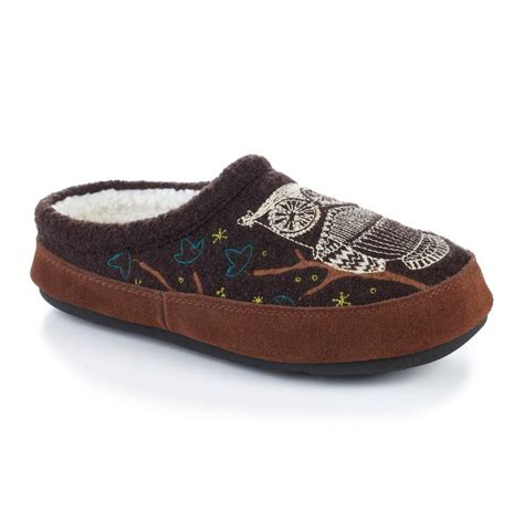 acorn house shoes acorn women s forest mule slippers