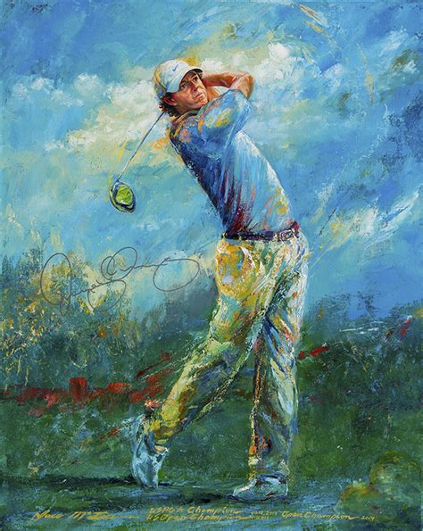 the swing painting analysis image gallery golf art