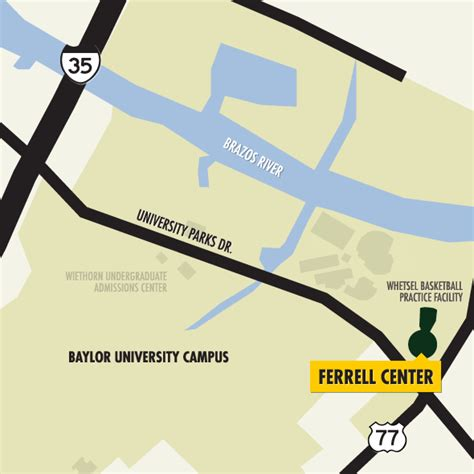 Https Www Baylor Edu Business Mba Doc Php 277717 Pdf by Ferrell Center Cus Map Baylor