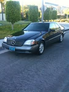1996 Mercedes S600 1996 Mercedes S Class Pictures Cargurus