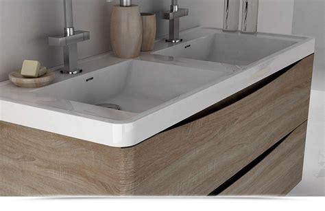 Doppio Lavello Bagno by Mobile Bagno Cm 120 Con Doppio Lavabo Color Rovere
