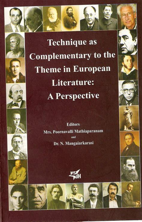 Themes In European Literature   language in india
