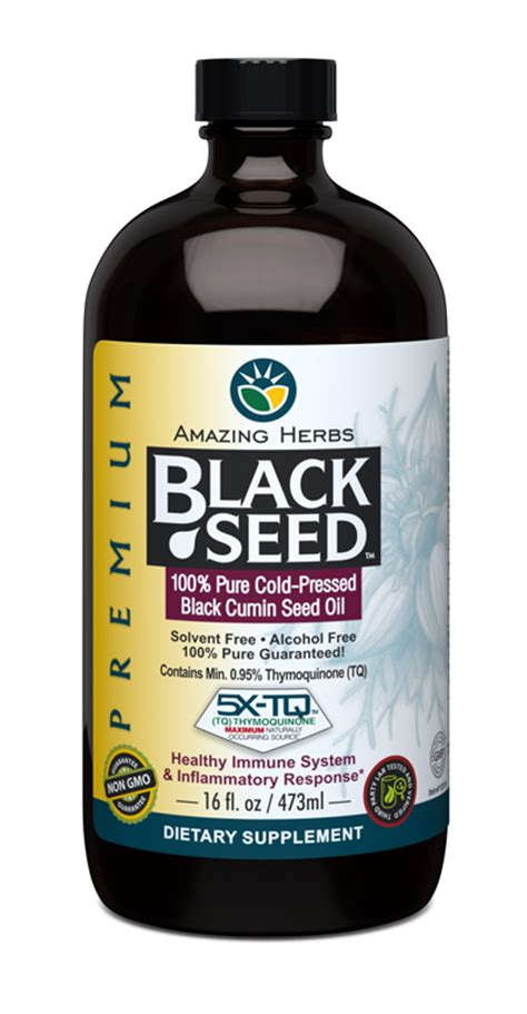 Black Cumin Seed And Liver Detox by Premium Black Seed 16oz Weight Loss Multi Vitamins