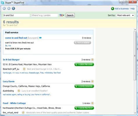 Skype Find Skype Software Informer Screenshots